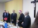 09.12.2011 - Opłatek z księdzem biskupem Janem Wieczorkiem